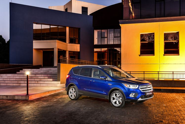 New Kuga launched