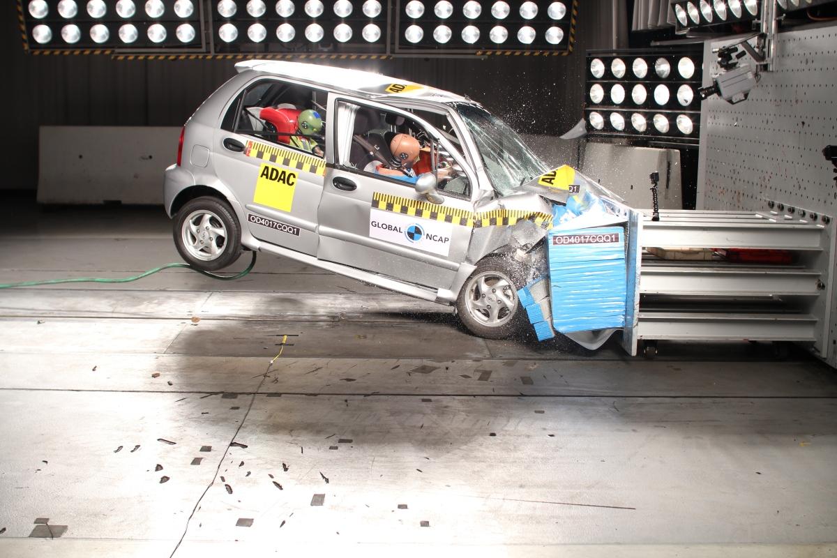 Crash tests revealflaws