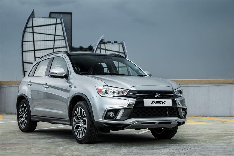 Mitsubishi range realigned