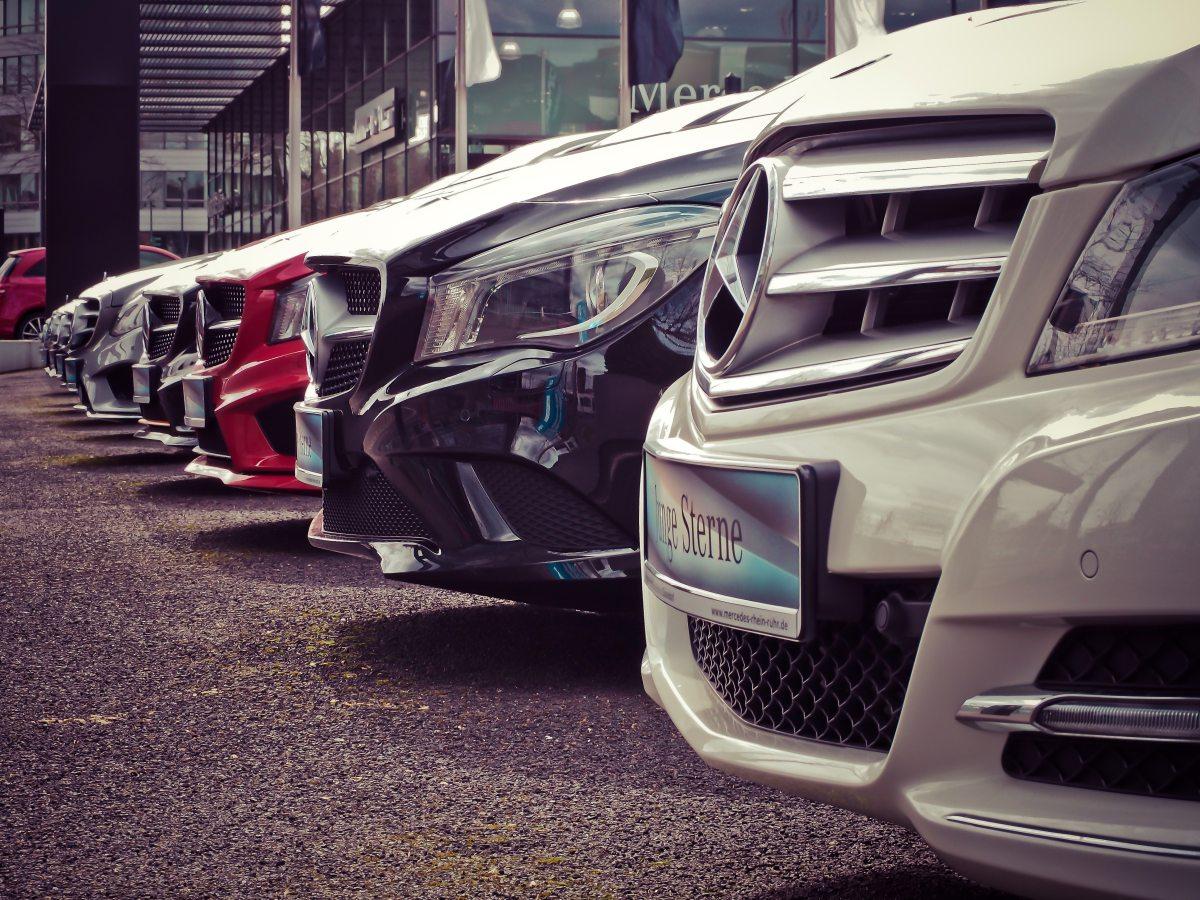 Car sales underpressure