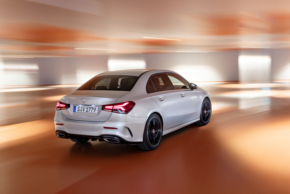 Sedan style for MercA-Class