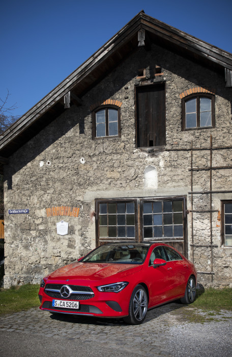 Der neue Mercedes-Benz CLA Coupé, München 2019  The new Mercedes-Benz CLA Coupe, Munich 2019