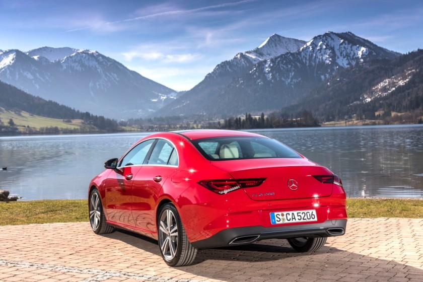 Der neue Mercedes-Benz CLA Coupé, München 2019  The new Mercedes-Benz CLA Coupe, Munich 2019