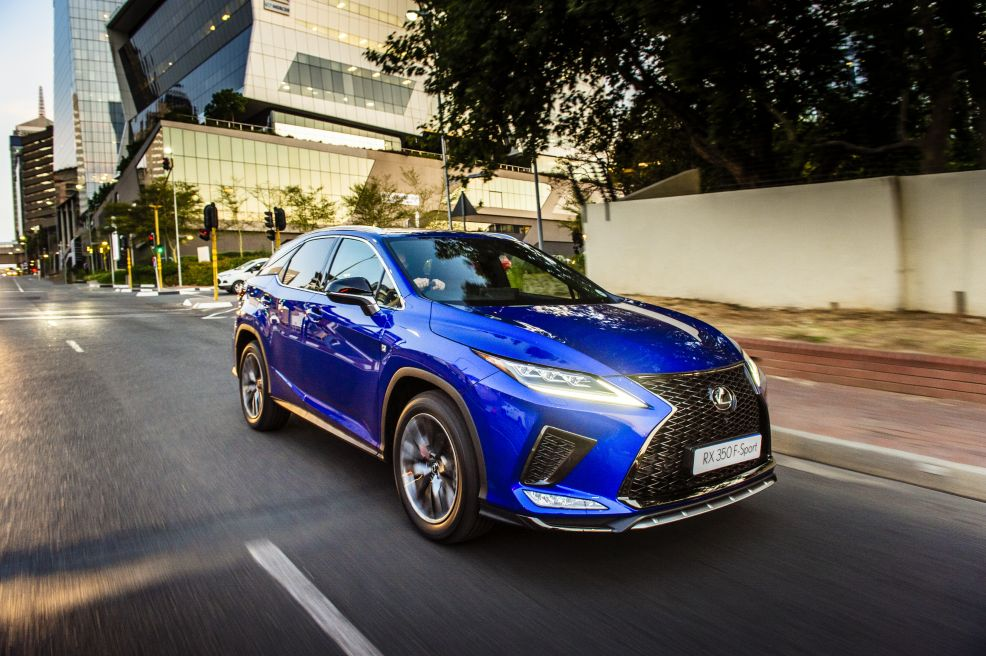 Road Review – Lexus RX 350 F Sport