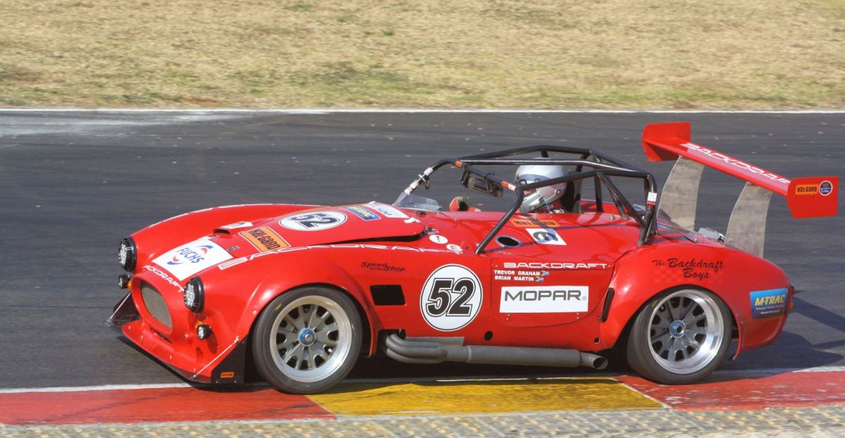 Backdraft Racing supports SA Endurance Series
