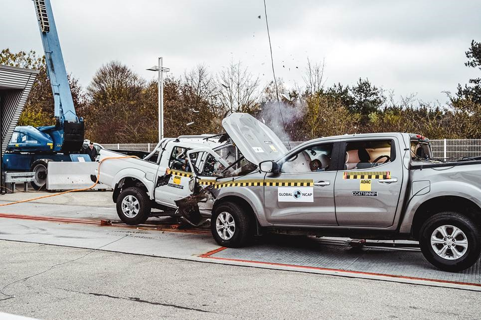 Hardbody fails crash test again