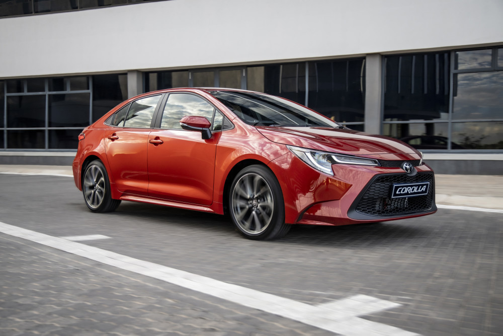 New Corolla launches intolockdown
